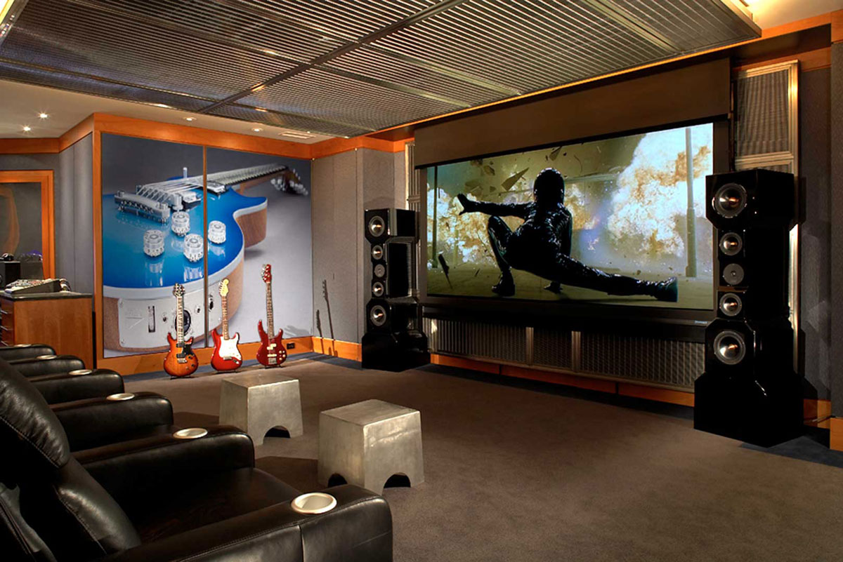 Home Entertainment Design Ideas: Home Audio/Video Everything