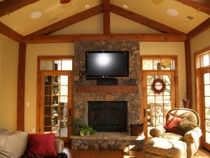 Home TV installation2_Custom sight and Sound-Flagstaff
