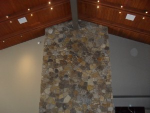 Home TV installation_before-Custom sight and Sound-Flagstaff